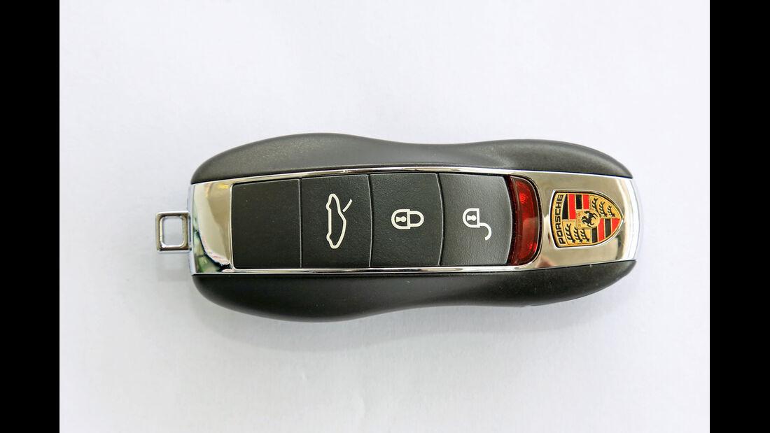 Porsche 991, Zündschlüssel
