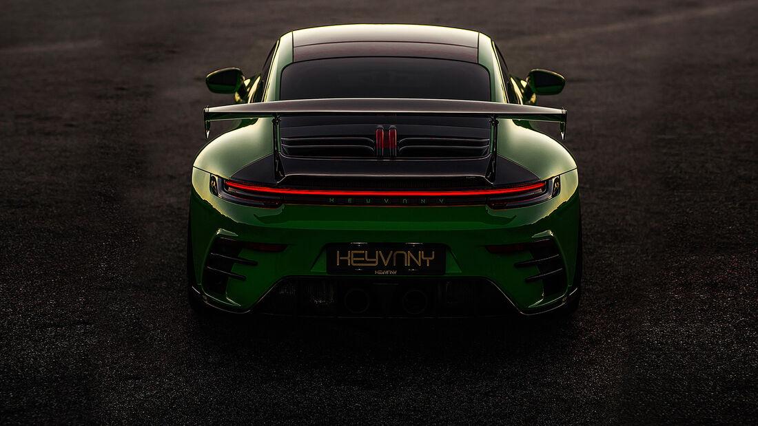 Porsche 992 Keyvany GTR Tuning
