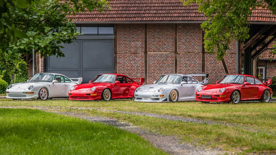 Porsche 993 911 GT Sammlung Jahn Lühn
