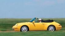 Porsche 993 Cabrio, Seitenansicht