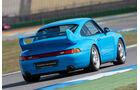 Porsche 993, Heckansicht
