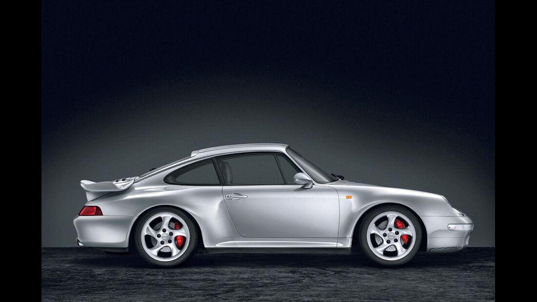 Porsche 993 Turbo 3.6 Coupé, Seitenansicht