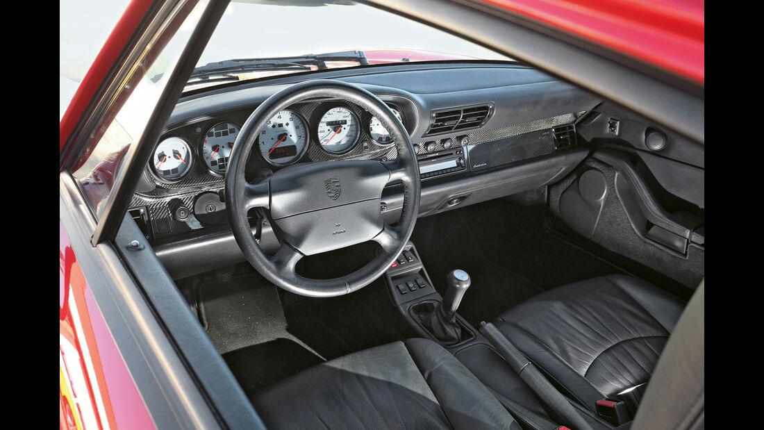 Porsche 993 Turbo, Cockpit