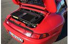 Porsche 993 Turbo, Motor