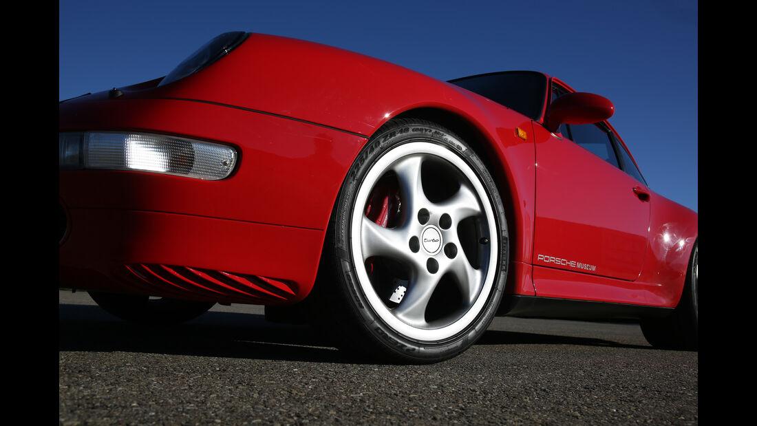 Porsche 993 Turbo, Rad, Felge