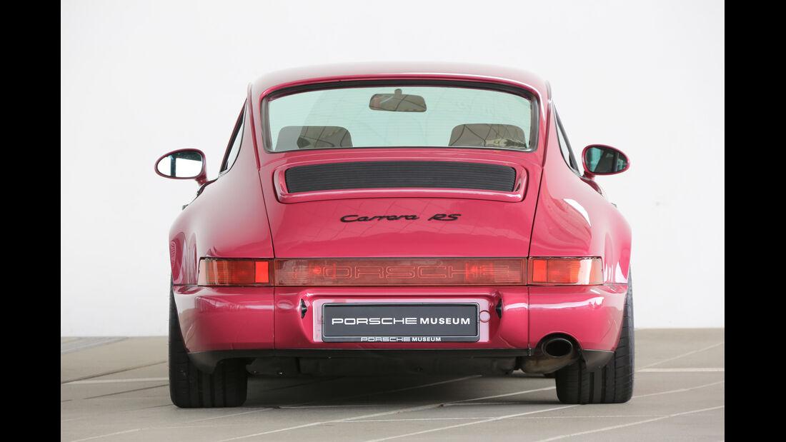 Porsche 996/997, Heckansicht