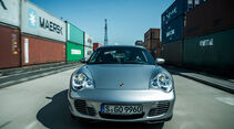 Porsche 996, Frontansicht