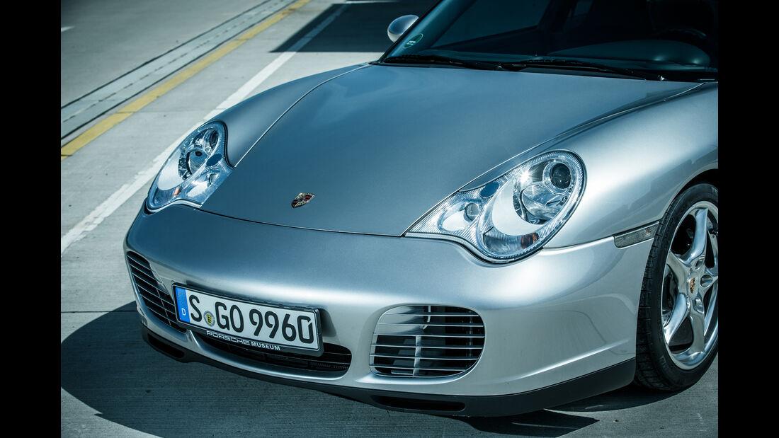 Porsche 996, Frontscheinwerfer
