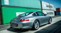 Porsche 996, Heckansicht