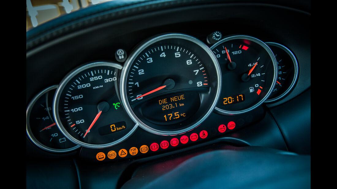 Porsche 996, Rundinstrumente