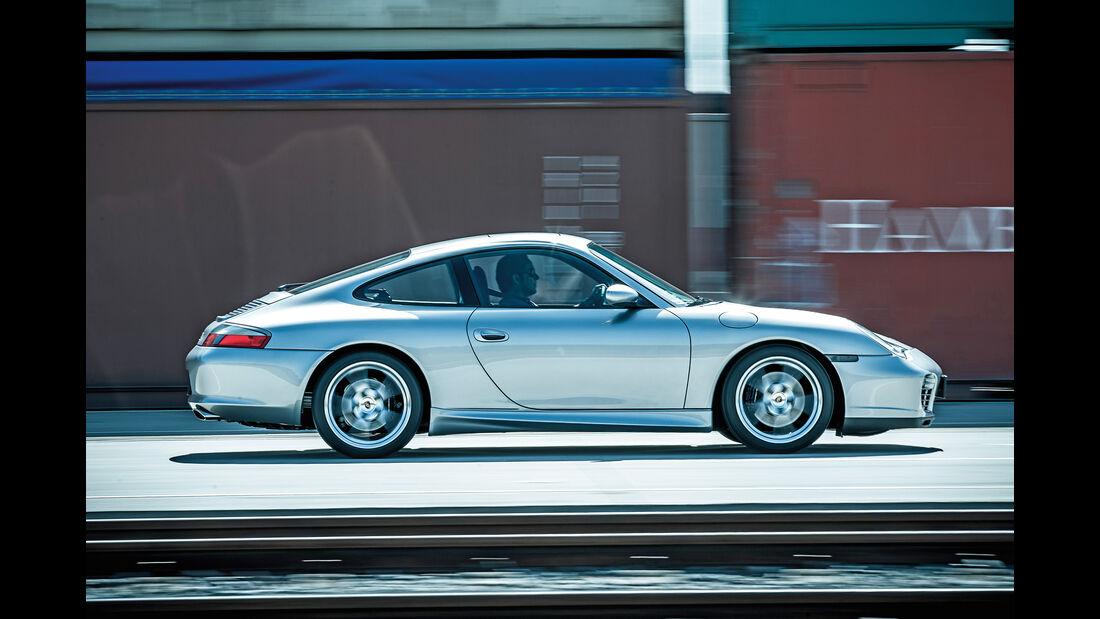 Porsche 996, Seitenansicht
