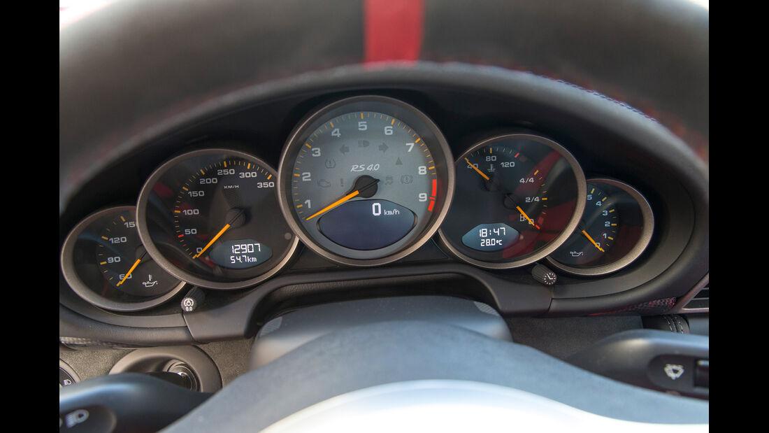 Porsche 997 (4.0), Rundinstrumente