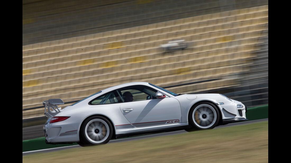 Porsche 997 (4.0), Seitenansicht