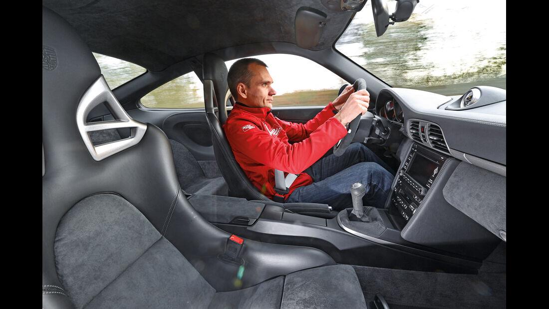 Porsche 997 GT3, Cockpit