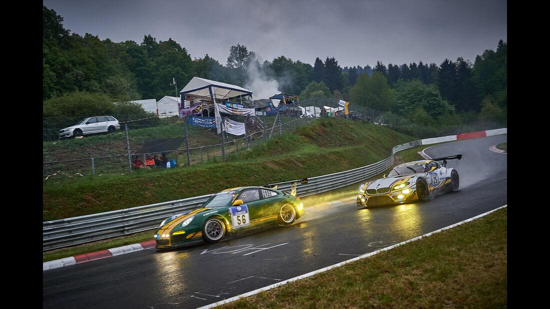 Porsche 997 GT3 Cup - 9und11 Racingt - #56 - Georg Goder, Martin Schlüter, Dirk Leßmeister - 24h Nürburgring  - Donnerstag - 1. Qualifying - 14.5.2015
