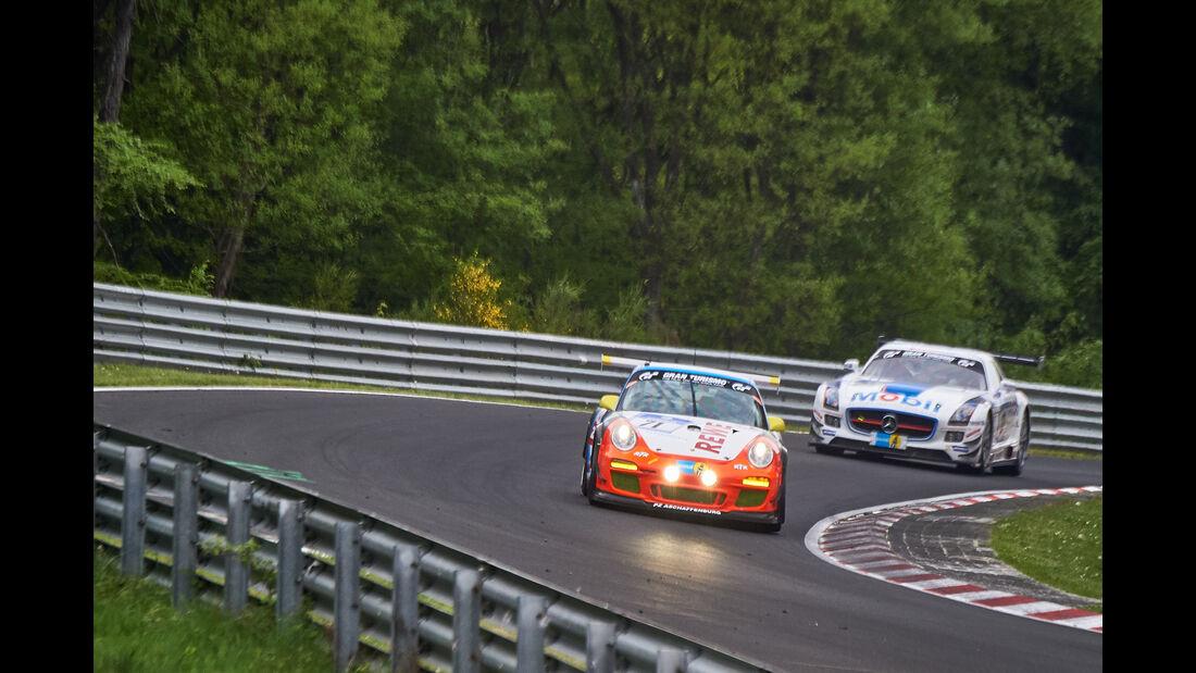 Porsche 997 GT3 Cup - Startnummer: #71 - 24h-Nürburgring 2015 - Donnerstag