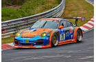 Porsche 997 GT3 KR - Kremer Racing - Startnummer: #71 - Bewerber/Fahrer: Eberhard Baunach, Wolfgang Kaufmann, Edgar Salewsky, David Schiwietz - Klasse: SP7