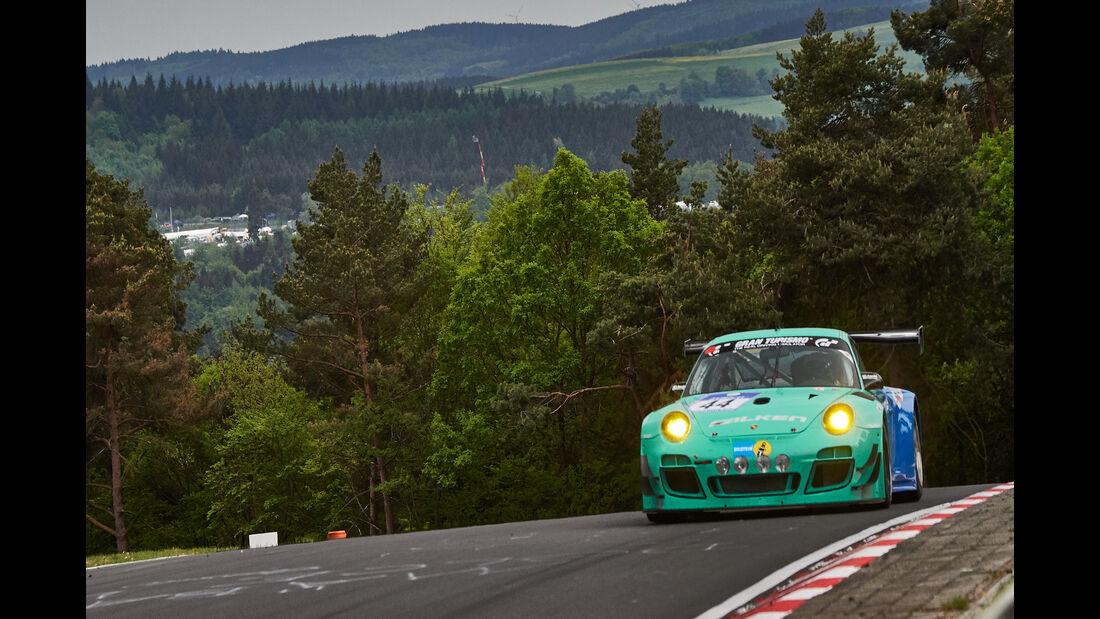 Porsche 997 GT3 R - Startnummer 44 - 24h-Rennen Nürburgring 2015 - Donnerstag - 14.5.2015