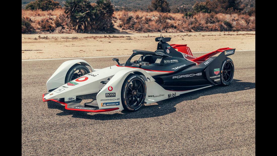 Porsche 99X electric - Formel E Auto - 2019