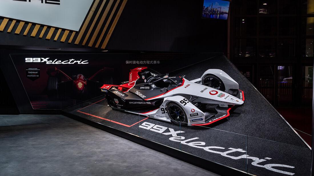 Porsche 99X electric auf der Auto Shanghai 2021