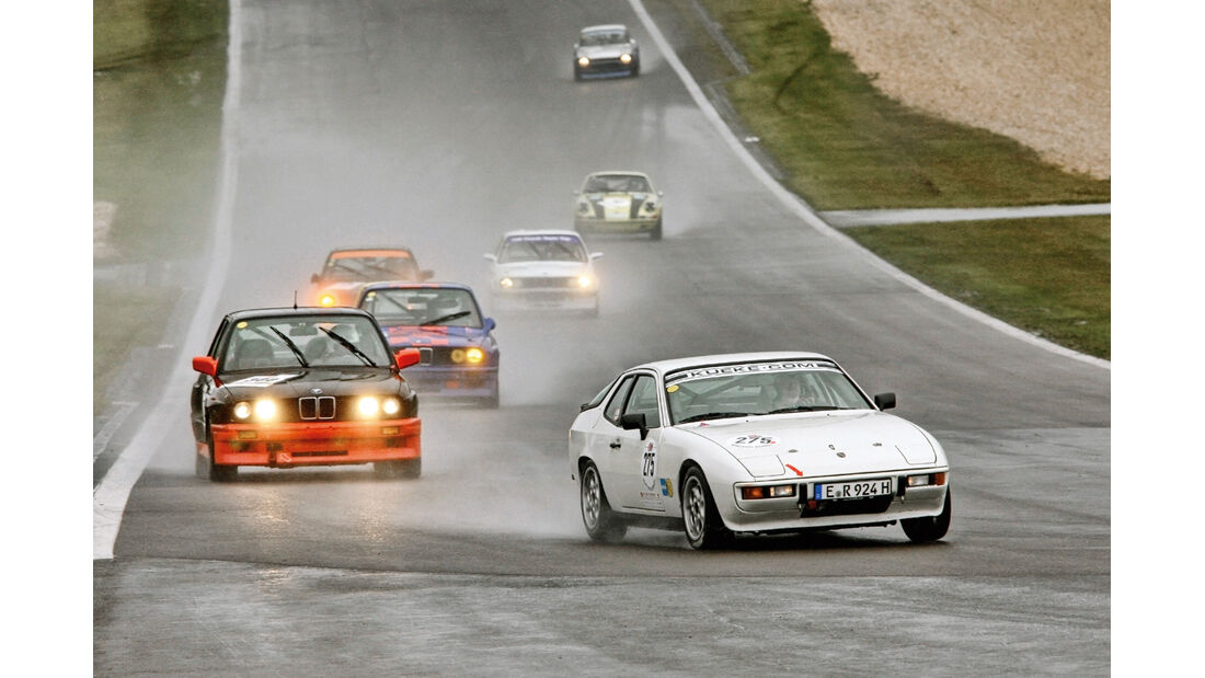 Porsche, BMW, Rennszene
