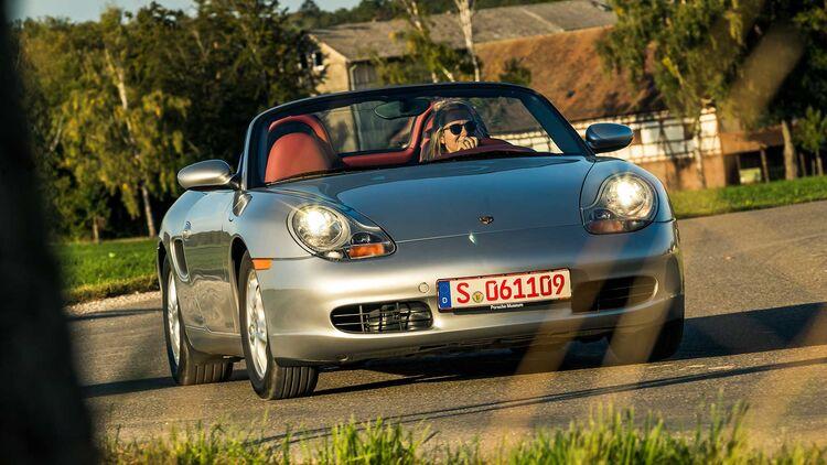 Porsche 914 1 8 Und Porsche Boxster 986 2 7 Im Vergleich Auto Motor Und Sport