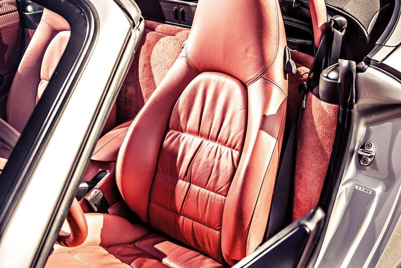 Porsche Boxster 2.7, Fahrersitz