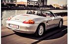 Porsche Boxster 2.7, Heckansicht