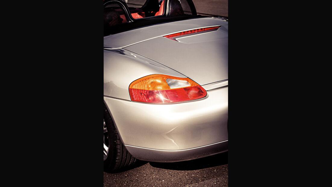Porsche Boxster 2.7, Heckleuchte