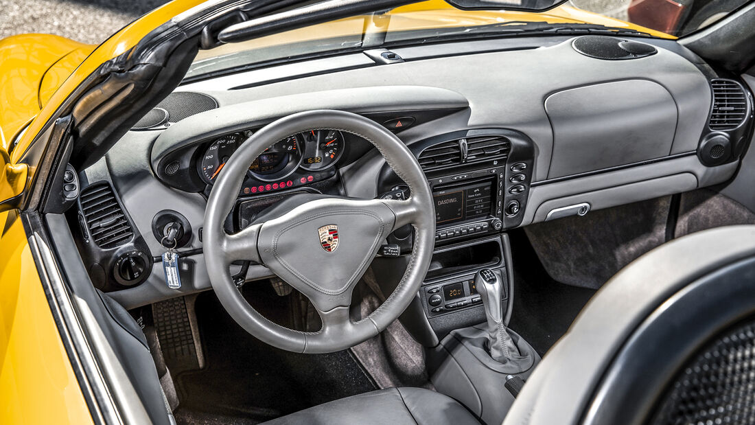 Porsche Boxster 2.7, Interieur