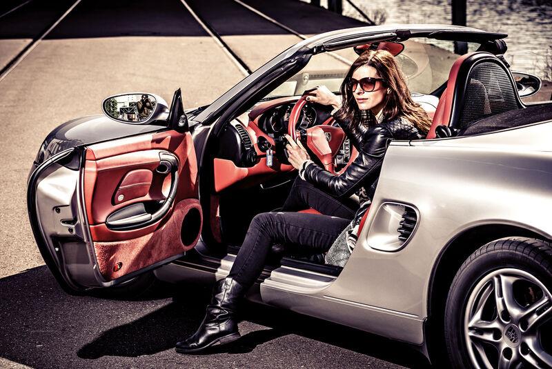 Porsche Boxster 2.7, Seite, Aussteigen