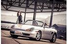 Porsche Boxster 2.7, Seitenansicht