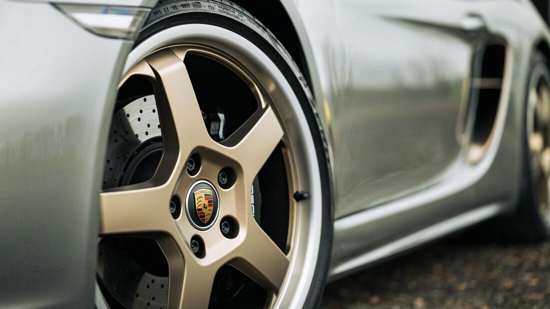 Porsche Boxster 25 Jahre (Typ 982), Exterieur