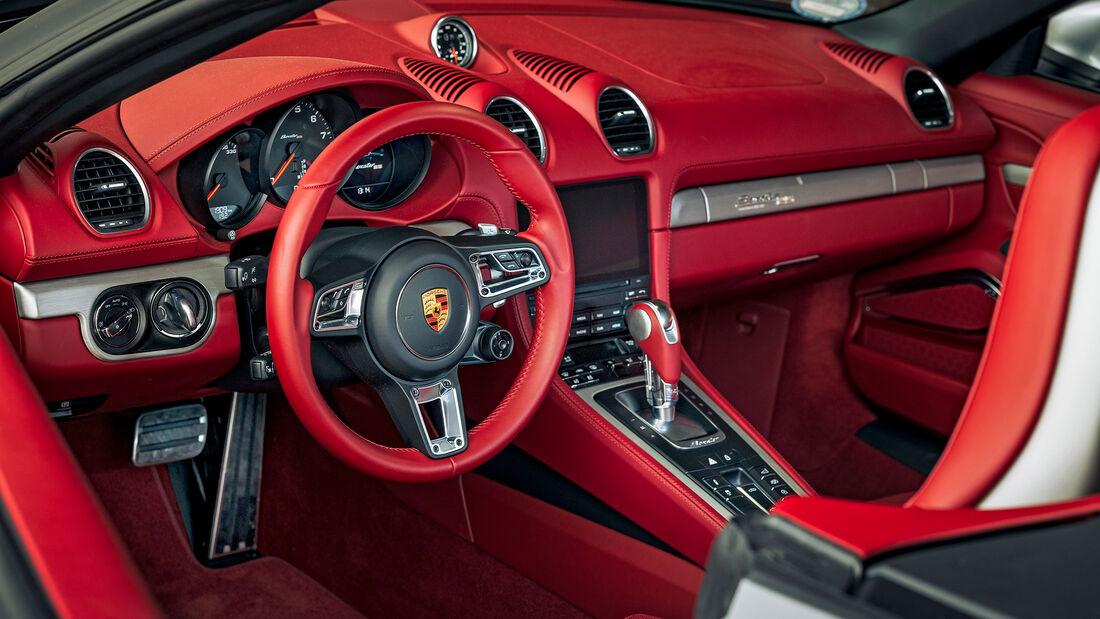 Porsche Boxster 25 Jahre (Typ 982), Interieur