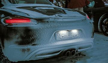 Porsche Boxster 718 Wintererprobung