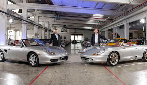Porsche Boxster (986) Konzeptstudie Boxster Horst Marchart Grent Larson, 2021
