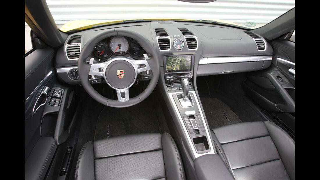 Porsche Boxster, Cockpit, Lenkrad