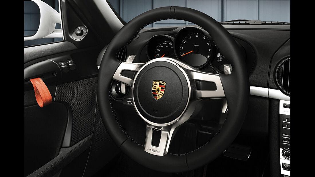 Porsche Boxster Dreispeichen-Sportlenkrad PDK