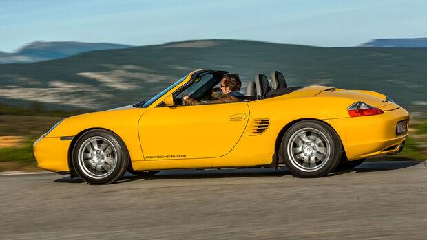 Porsche Boxster, Exterieur