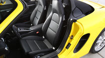 Porsche Boxster, Fahrersitz, Vordersitz