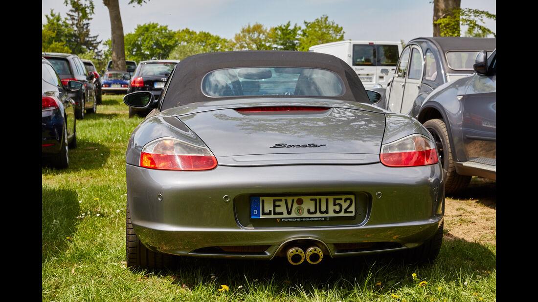 Porsche Boxster - Fan-Autos - 24h-Rennen Nürburgring 2015 - 14.5.2015