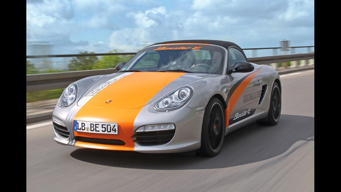 Porsche Boxster, Frontansicht