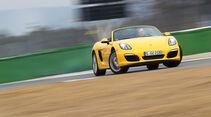 Porsche Boxster, Frontansicht, Driften
