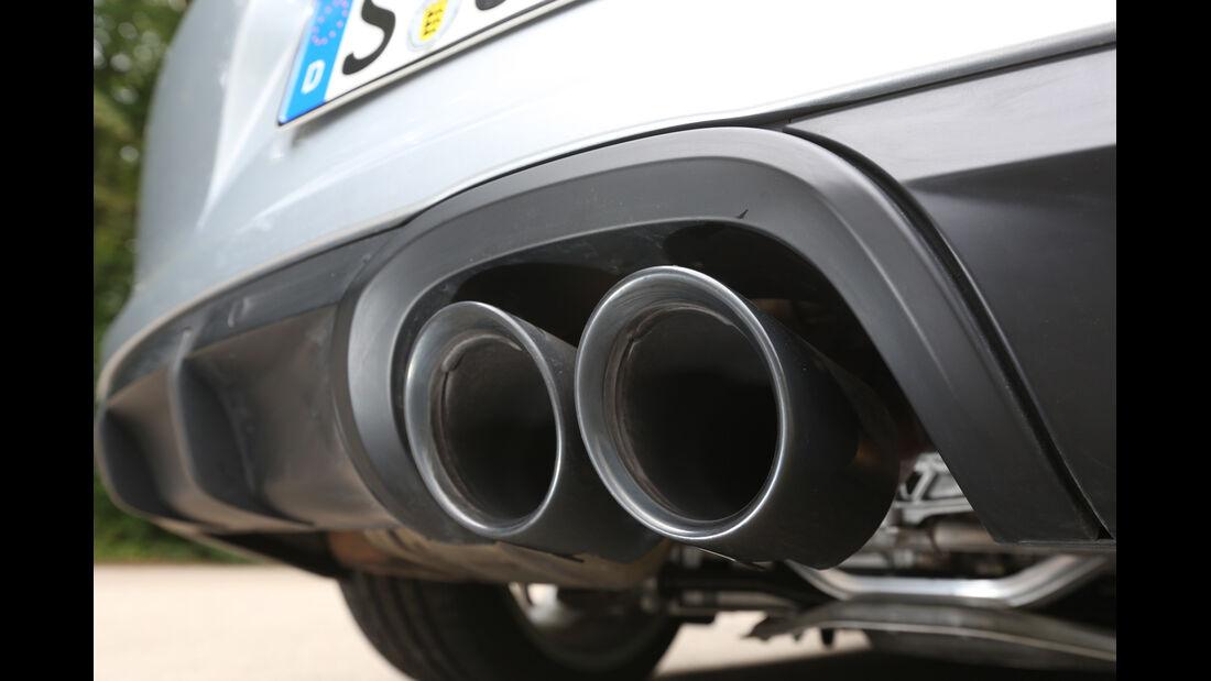 Porsche Boxster GTS, Auspuff, Endrohre