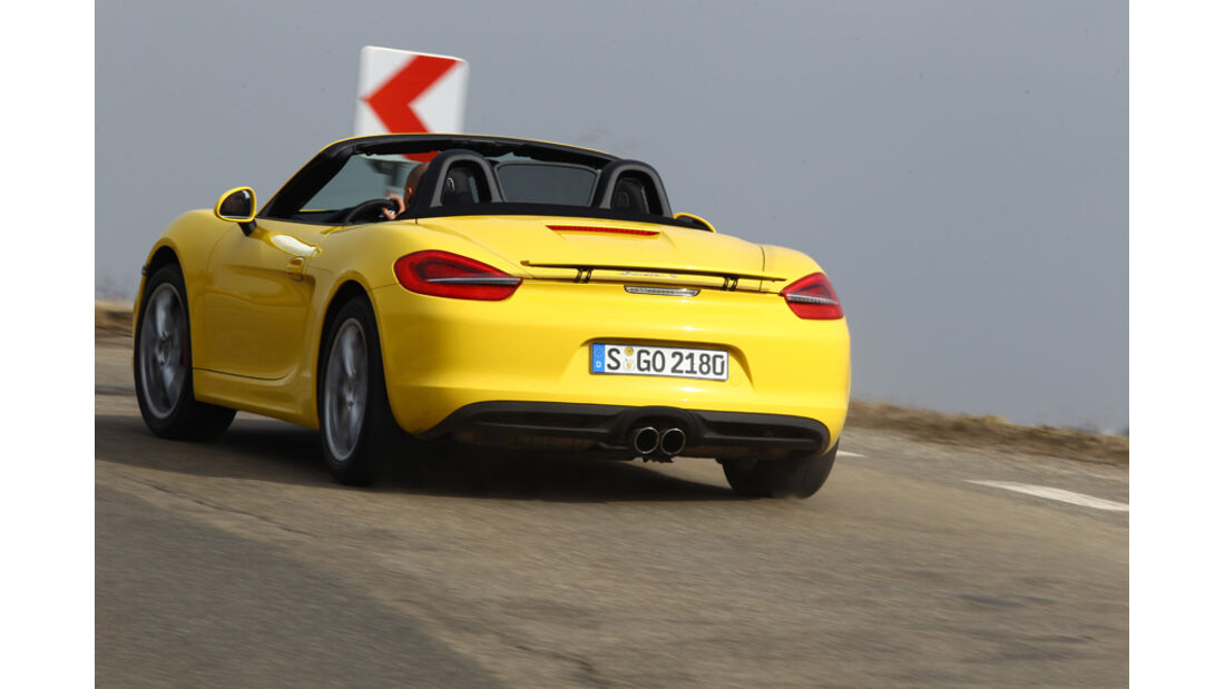 Porsche Boxster, Heck