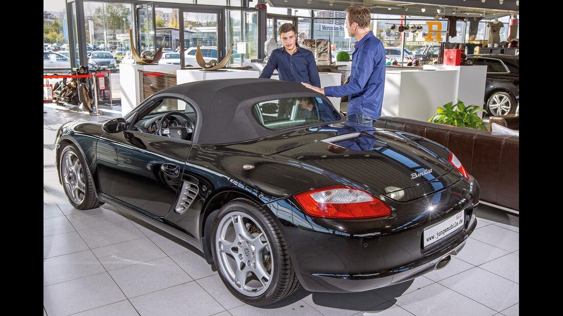 Porsche Boxster, Heckansicht