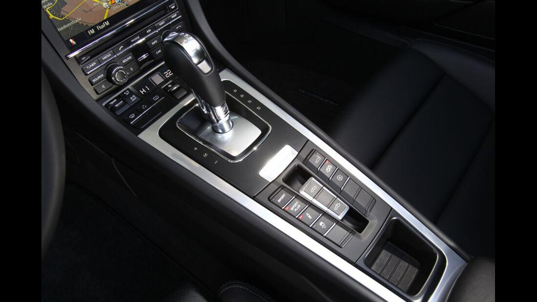 Porsche Boxster, Mittelkonsole