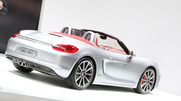 Porsche Boxster S, Autosalon Genf 2012, Messe