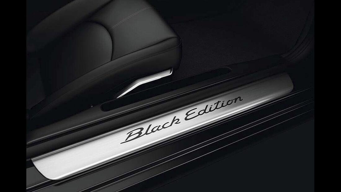 Porsche Boxster S Black Edition Sondermodell, Einstiegsleiste