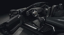 Porsche Boxster S Black Edition Sondermodell, Innenraum